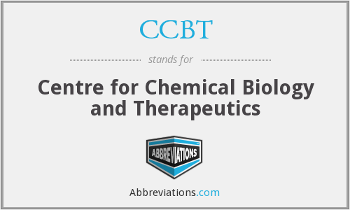 CCBT - Centre for Chemical Biology and Therapeutics