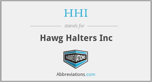 HHI - Hawg Halters Inc