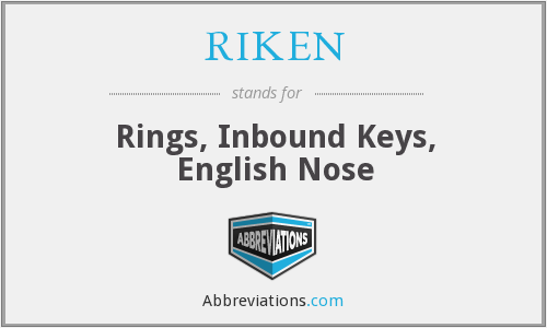 What does RIKEN stand for?