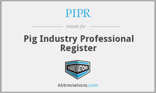What does PIPR stand for?