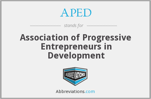 What does APED stand for?