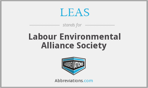 LEAS - Labour Environmental Alliance Society