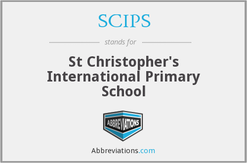 SCIPS - St Christopher's International Primary School