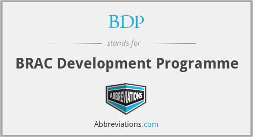 BDP - BRAC Development Programme