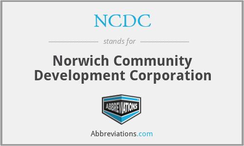 NCDC - Norwich Community Development Corporation