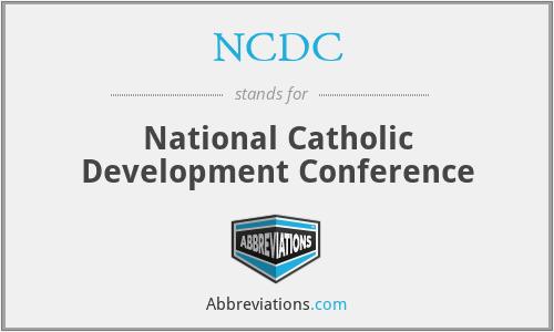 NCDC - National Catholic Development Conference