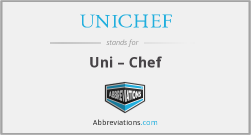 What does UNICHEF stand for?