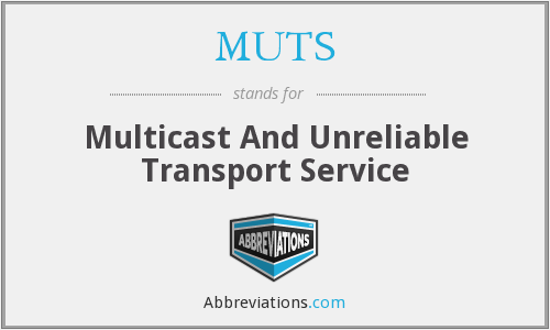 MUTS - Multicast And Unreliable Transport Service