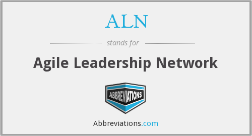 ALN - Agile Leadership Network