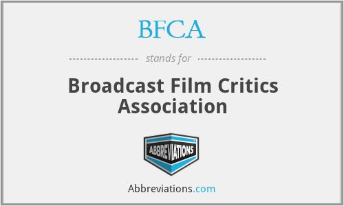 BFCA - Broadcast Film Critics Association