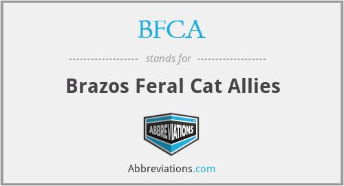 BFCA - Brazos Feral Cat Allies