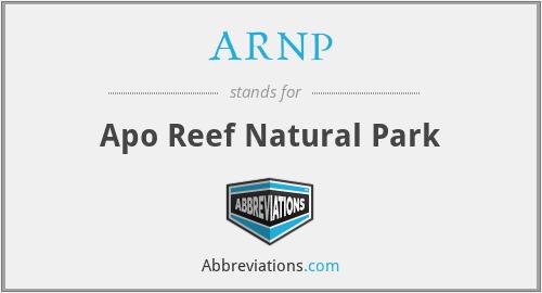 ARNP - Apo Reef Natural Park