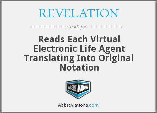 What does REVELATION stand for?
