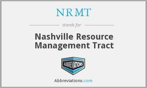 What does NRMT stand for?