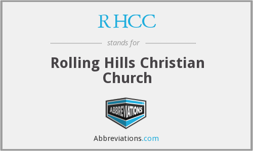 RHCC - Rolling Hills Christian Church