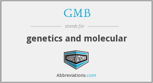 GMB - genetics and molecular