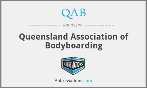QAB - Queensland Association of Bodyboarding