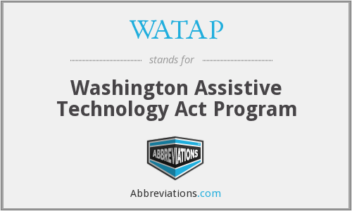 What does WATAP stand for?