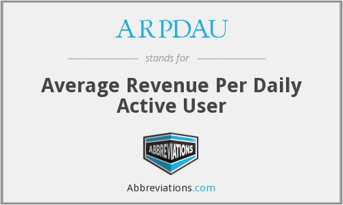 What does ARPDAU stand for?