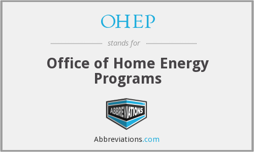 What does OHEP stand for?