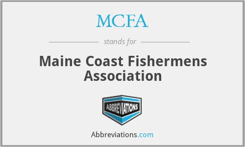 MCFA - Maine Coast Fishermens Association