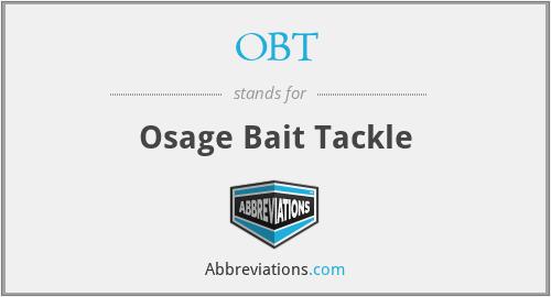 OBT - Osage Bait Tackle