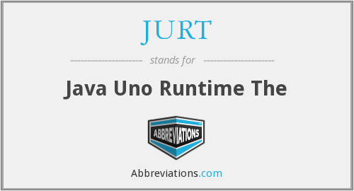 What does JURT stand for?