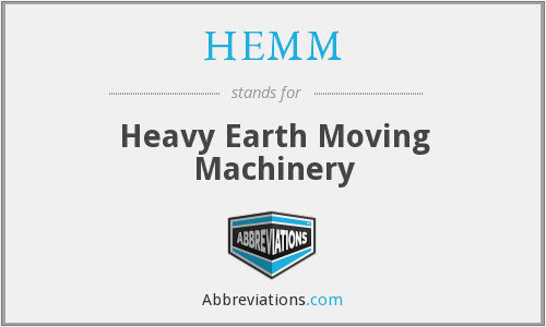 What does HEMM stand for?