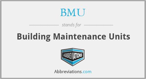 BMU - Building Maintenance Units