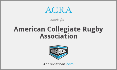 ACRA - American Collegiate Rugby Association