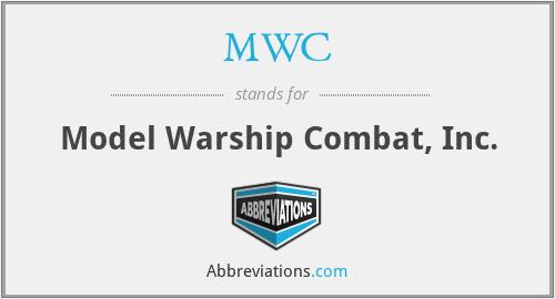MWC - Model Warship Combat, Inc.