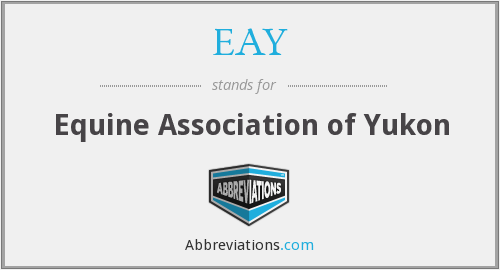 EAY - Equine Association of Yukon