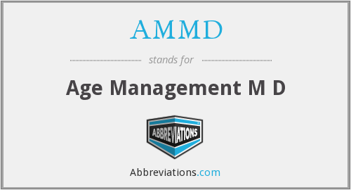 What does AMMD stand for?