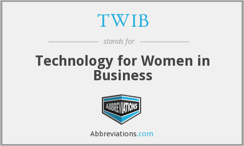 What does TWIB stand for?