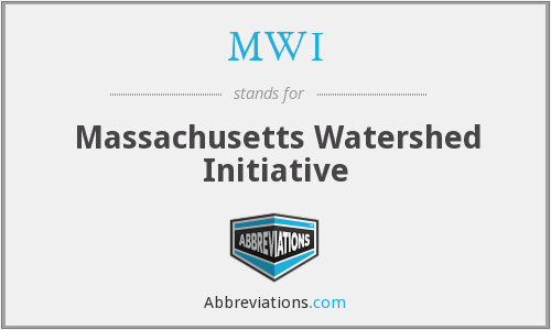 MWI - Massachusetts Watershed Initiative