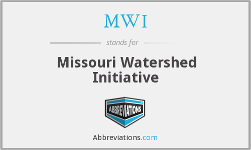MWI - Missouri Watershed Initiative