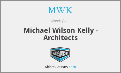MWK - Michael Wilson Kelly - Architects