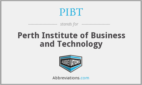 What does PIBT stand for?