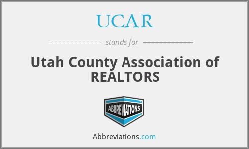 UCAR - Utah County Association of REALTORS