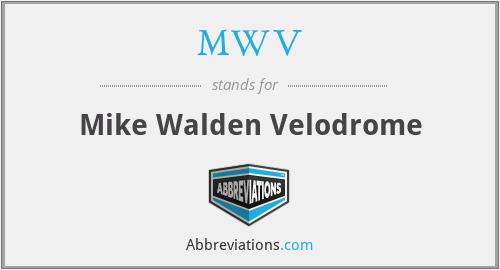 MWV - Mike Walden Velodrome