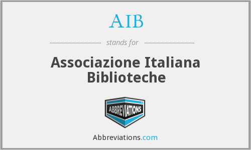 What does AIB stand for? — Page #2
