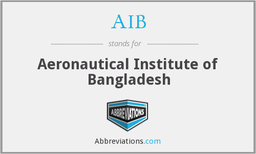 AIB - Aeronautical Institute of Bangladesh
