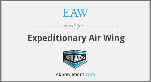 EAW - Expeditionary Air Wing