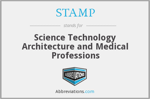 STAMP - Science Technology Architecture and Medical Professions