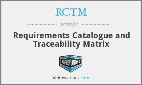 What does RCTM stand for?