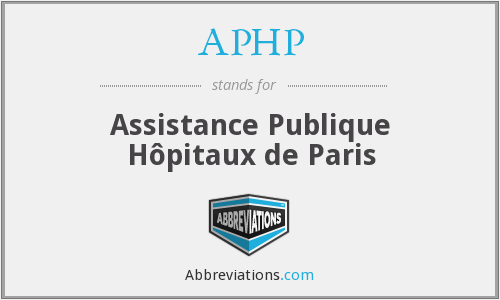 APHP - Assistance Publique Hôpitaux de Paris