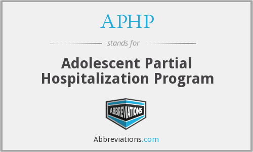 APHP - Adolescent Partial Hospitalization Program