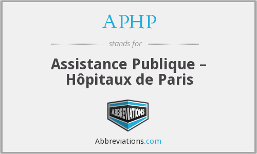 APHP - Assistance Publique – Hôpitaux de Paris