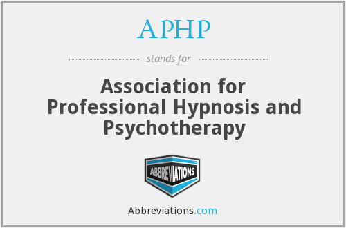 APHP - Association for Professional Hypnosis and Psychotherapy