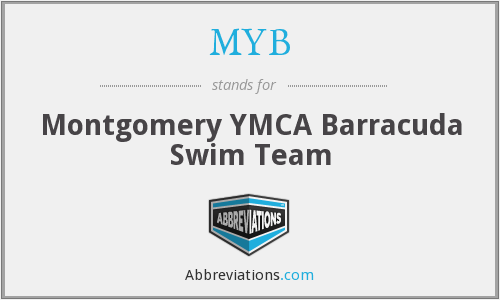 MYB - Montgomery YMCA Barracuda Swim Team